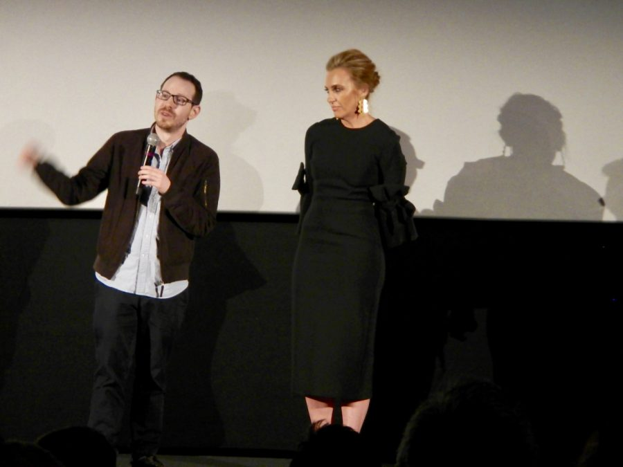 Hereditary Director Ari Aster with Tori Collette  Courtesy of Wikimedia Commons