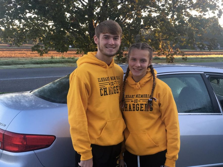 Senior Neil Terrell and sophomore Rachel Terrell are advancing to Semi-State in Cross Country.