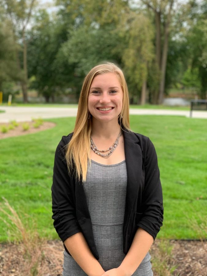 Senior, Morgan Dyer, is part of the new Elkhart County, Startup Moxie program.