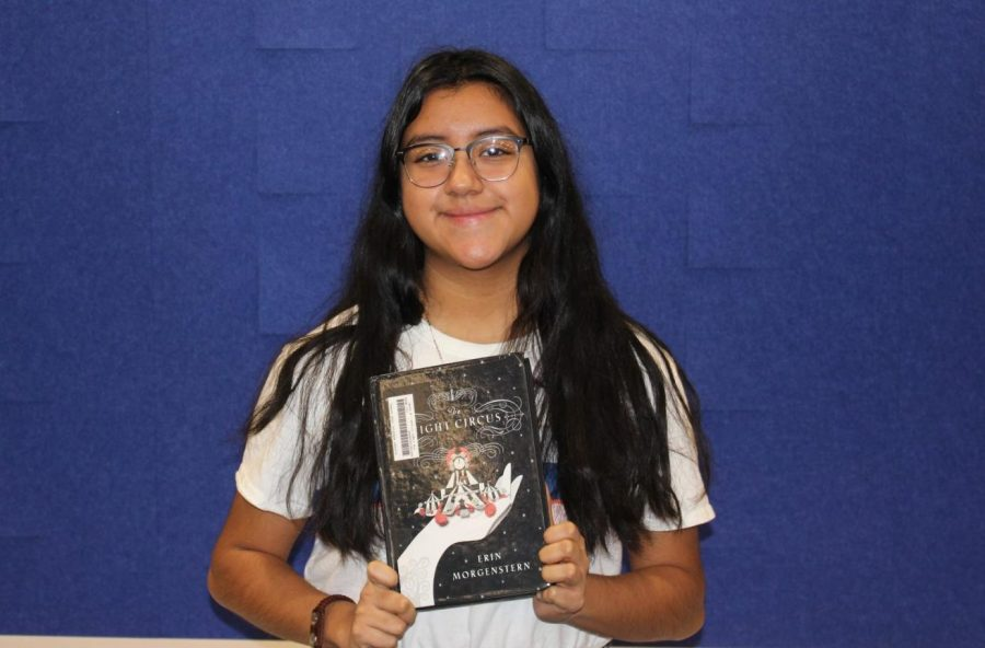 """'The Night Circus' by Erin Morgenstern is a fantasy novel that tells the story of two magicians who encounter magical experiences, but in the end, only one can win. This book is honestly amazing. It took me to a whole different world. I would totally recommend,"" junior Daniela Morales said."
