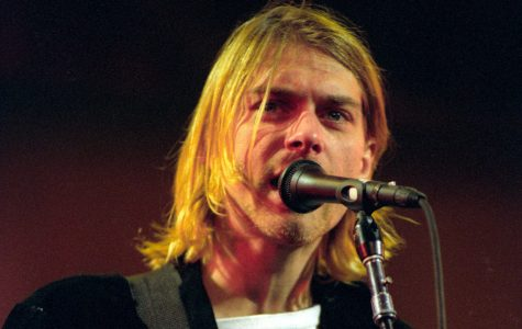 Kurt Cobain of Nirvana  (Photo by Jeff Kravitz/FilmMagic)