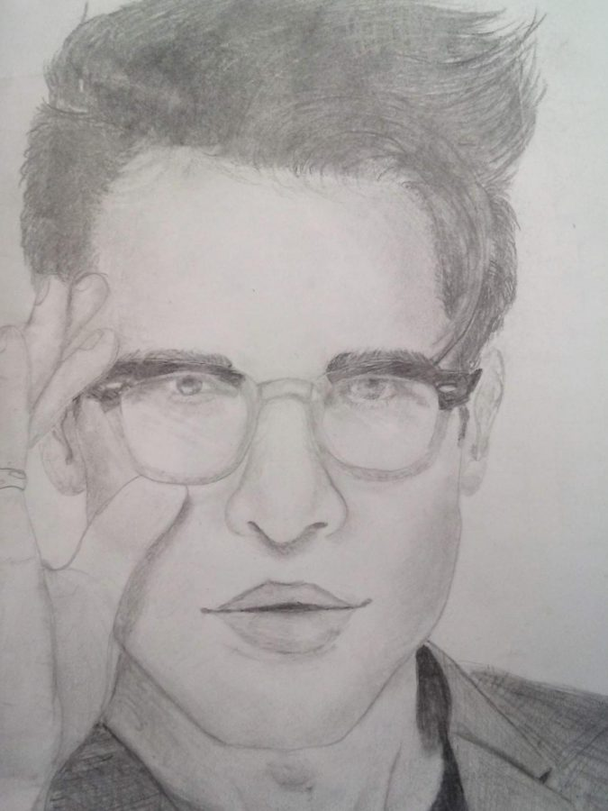 A portrait of Brendon Urie by Alexis Enders