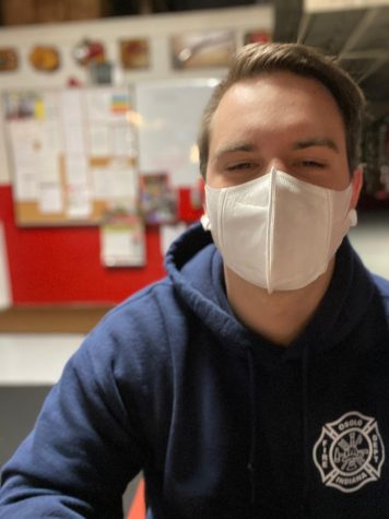 Jenner Minix, firefighter at Osolo Township Fire Department, shares how his job has changed during the pandemic. Minix is a 2017 Elkhart Memorial graduate.
