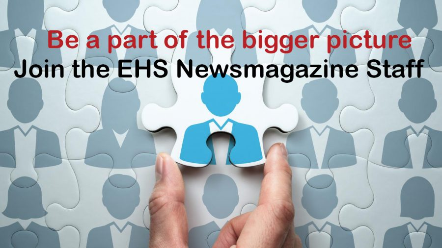 JOIN THE NEWSMAGAZINE STAFF!