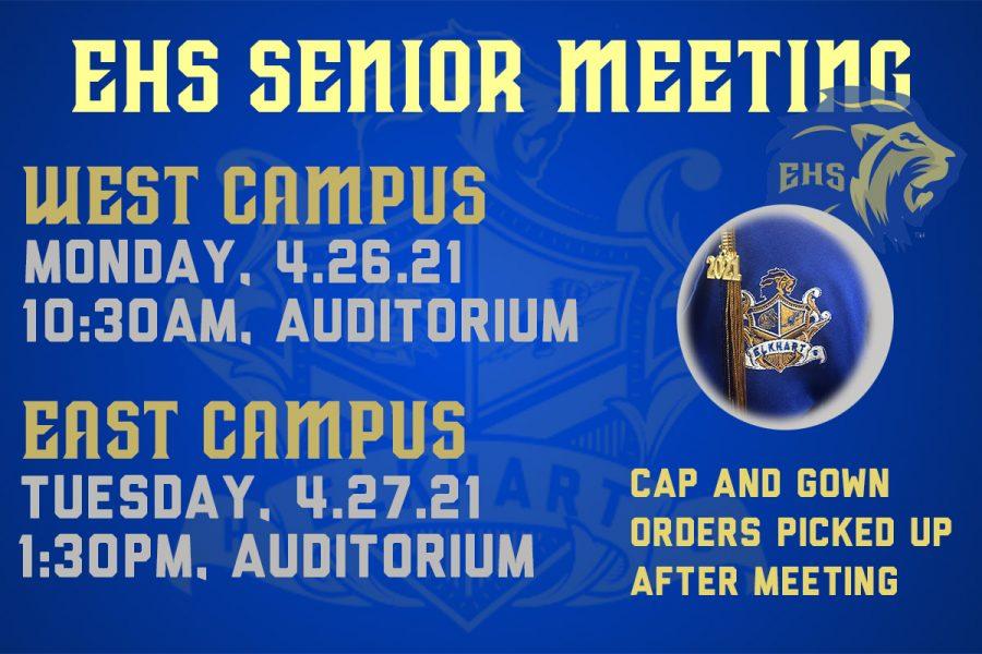 Senior Meeting Information