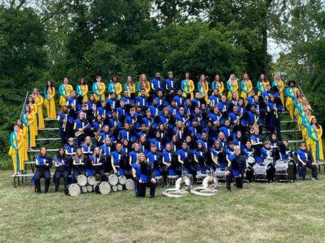 EHS Marching Band Rises Up To The Challenge At Competition