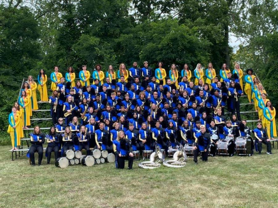 EHS+Marching+Band+Rises+Up+To+The+Challenge+At+Competition